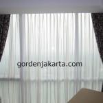 gorden minimalis blackout