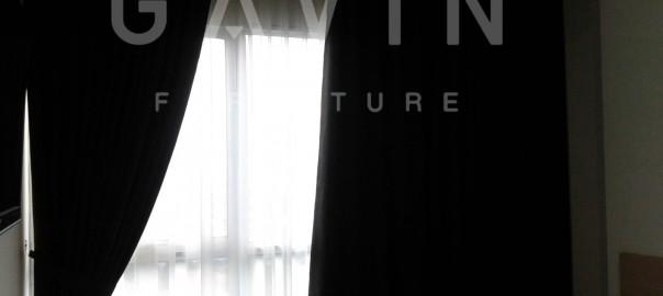 Gorden Rumah Minimalis Semi Blackout Klien Bangka Kemang