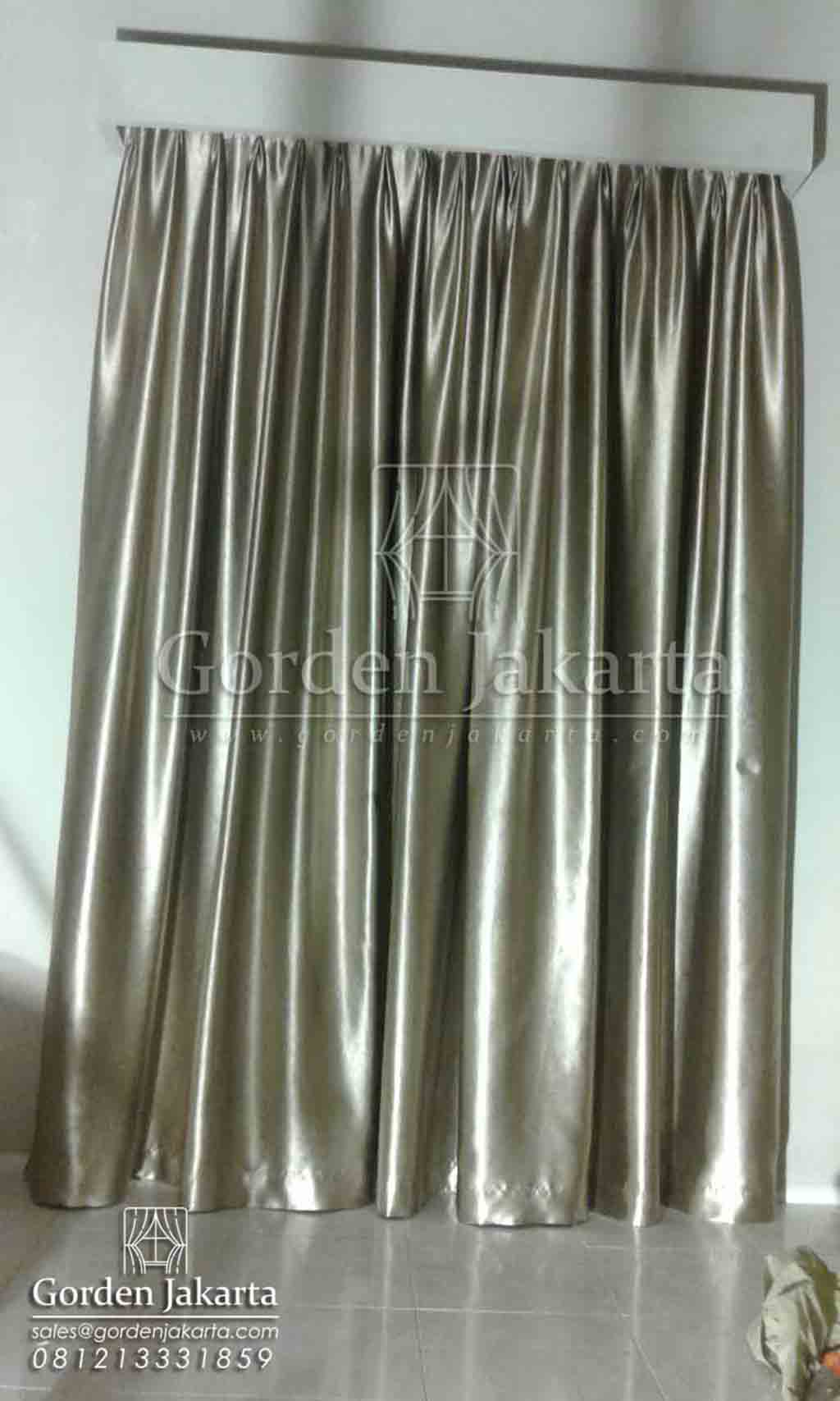 Contoh Aneka Model Gorden Rumah Minimalis Silver Di Cilegon Q3457
