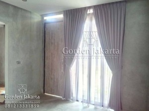 model gorden rumah minimalis semi blackout