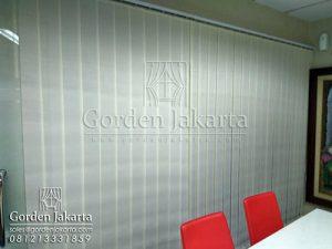 Q3097 gorden jakarta pusat vertical blinds dimout Sp 8007 - 7