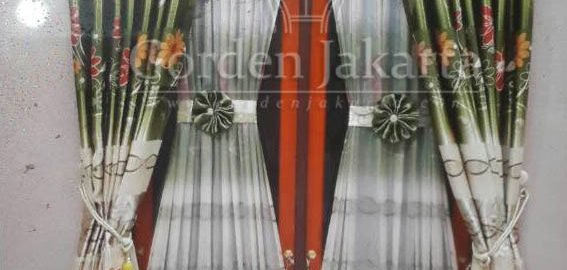 gorden blackout murah motif model klasik