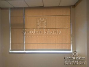 model gorden roman shades bahan sanaya