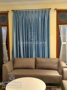 harga gorden jendela minimalis warna biru pablo FAE-7 Q3235