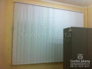 Jual Vertical Blinds Blackout Sp 6045 - 10 White Di Gunung Sindur Q 3424