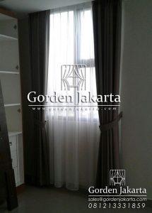 contoh gorden minimalis untuk apartemen bahan quinn dan vitrage Q3441