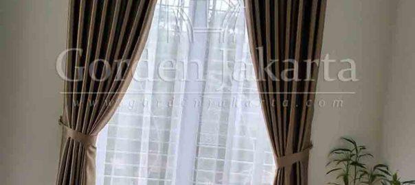 Tirai minimalis modern gorden ST Moritz MZ di Sentul Bogor Q3374