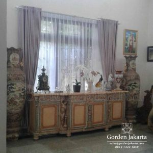 Gorden Semi Blackout Shyla Nouvo Di Cipayung by Gorden Jakarta Q3642