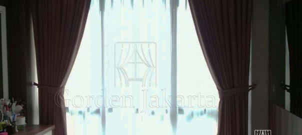 Gorden Minimalis Kamar Bahan Semi Blackout Q3747