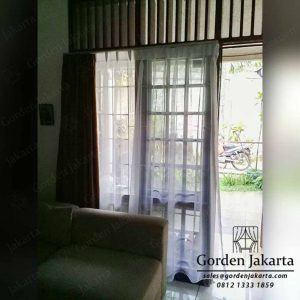 Vitrage Gorden Putih Polos Amour H2 By Gorden Jakarta Q3879