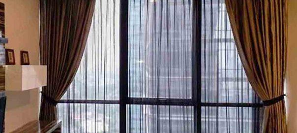 contoh gorden jendela apartemen di Senopati by Gorden Jakarta id4096