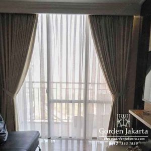 desain gorden minimalis apartemen kuningan city by Gorden Jakarta id4081