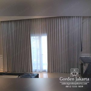 gorden minimalis untuk kamar tidur bahan blackout di Jelambar Grogol Jakarta Barat id4017