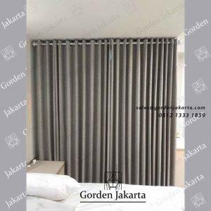 contoh gorden jendela kamar warna grey pasang di casajardin id4137