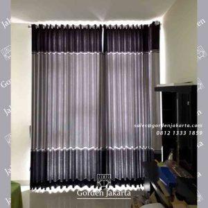 gorden jendela kombinasi warna pasang di greenlake by gorden jakarta id4078