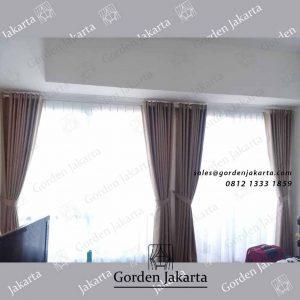 model gorden apartemen minimalis dengan vitrage di Bintaro id4125
