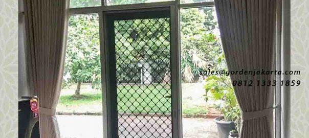 contoh tirai jendela cantik minimalis di pangkalan jati id4305