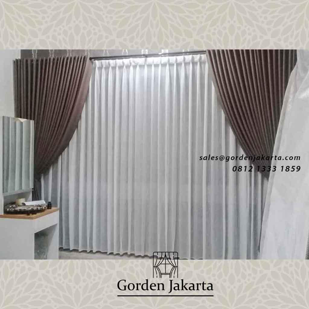 Gorden Kamar Tidur Model Minimalis Klien Kedoya Raya Jakarta Barat Gorden Jakarta