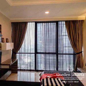 contoh gorden apartemen minimalis modern by Gorden Jakarta