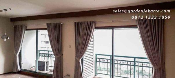 tirai cantik minimalis untuk apartemen by Gorden Jakarta id4303