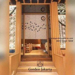 contoh tirai pintu jepang by Gorden Jakarta id4168