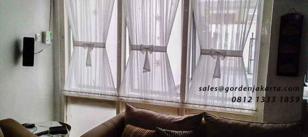 contoh model gorden jendela minimalis di Tanah Abang id4316