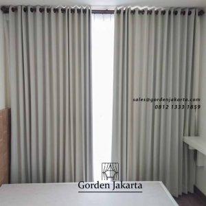 model gorden apartemen minimalis nuansa grey di Puri Kembangan id4361