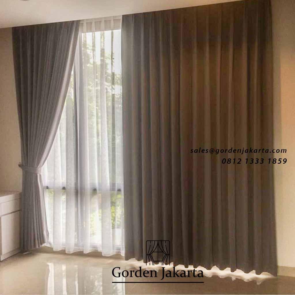 Contoh Model Gorden Rumah Minimalis Harvest Bintaro Gorden Jakarta Warna gorden untuk dinding krem