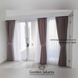 jual gorden murah model minimalis by Gorden Jakarta id4741
