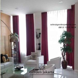 contoh model gorden terbaru ruang tamu minimalis by Gorden Jakarta id4919