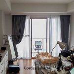 Gambar Gorden Kamar Tidur Minimalis Di Apartemen Sudirman Hill Jakarta Pusat id5510