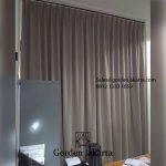Gorden jendela minimalis murah klien kayu putih Jakarta Timur id5512