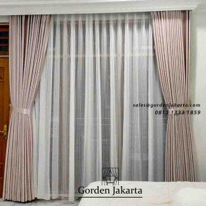 Hasil Pasang Gorden Kamar Minimalis klien Kebon Jeruk Jakarta barat id5390