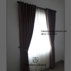 Jual Gorden Warna Coklat Pamulang Town House Bojongsari Depok Id5950