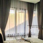 Jual gorden semi blackout kamar tidur ID4634