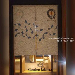 Custom noren jepang murah id4168