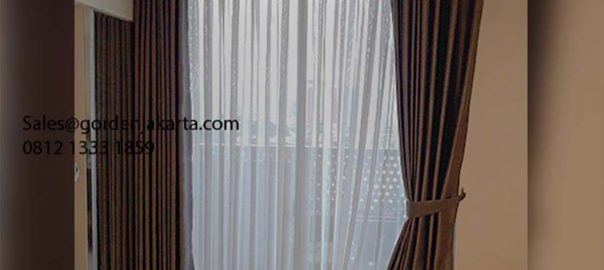 Jual Gorden Minimalis Gvtex 20-5 Apartemen West Vista The Crest Cengkareng id5583