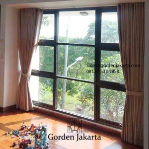 Jual Kain Gorden Book 6 Nomad Coklat Komplek The Villas At Kebagusan Pasar Minggu Jakarta id5810