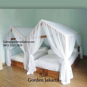 Model Kelambu Tempat Tidur yang Menawan Bikin Kamarmu Lebih Menarik ID6004