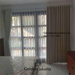 Jual Kain Gorden Sanaya 111 Coklat Kolonel Bustomi Caringin Bogor id5749