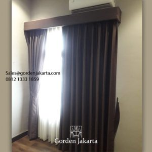 Jual Kain Gorden Exblack K 23-9 Cokelat Kebon Nanas Kebayoran Lama Jakarta id6135