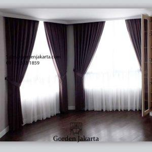 Jual Gorden Minimalis Cozy 27-10 Coklat Gandaria Heights Apartment Kebayoran Lama Id6173