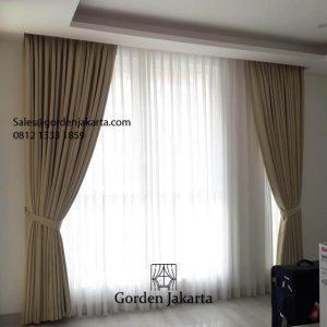 Jual Kain Gorden Sahara 206 Warna Coklat Villa Dago Cluster Maribaya Pamulang Id6119