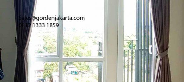 Harga Gorden Minimalis Quinn Premium Coklat Apartemen Bintaro Plaza Residence Pondok Aren Id6229