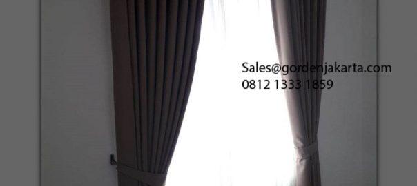 Jual Gorden Minimalis Cozy 27-3 Coklat Pamulang Town House Bojongsari Depok Id5950