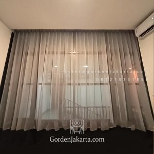 Jual Vitrage Gorden Super Sable Coklat Reddoorz Premium Ampera Pasar Minggu Jakarta ID6431