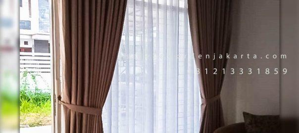 Beli Gorden Murah Premiere Belle Coklat Komplek Mega Cinere Depok ID5052