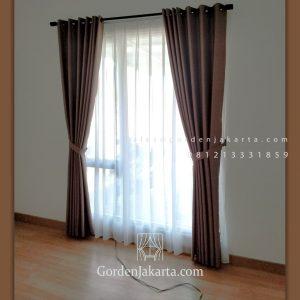 Harga Kain Gorden Shibuya Coklat Golf Island PIK Penjaringan Jakarta ID5721