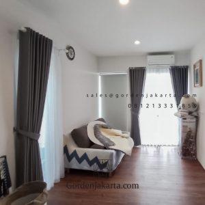 Daftar Harga Gorden Minimalis Saiba 115 Abu-abu Clover Hill Residences Larangan Tangerang ID6580