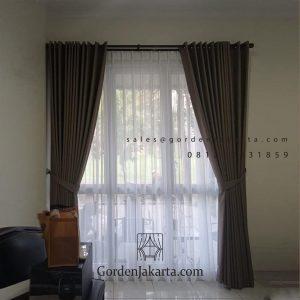 Daftar Harga Kain Gorden Gvtex 31-4 Coklat The Icon - BSD City Cisauk Tangerang ID6634